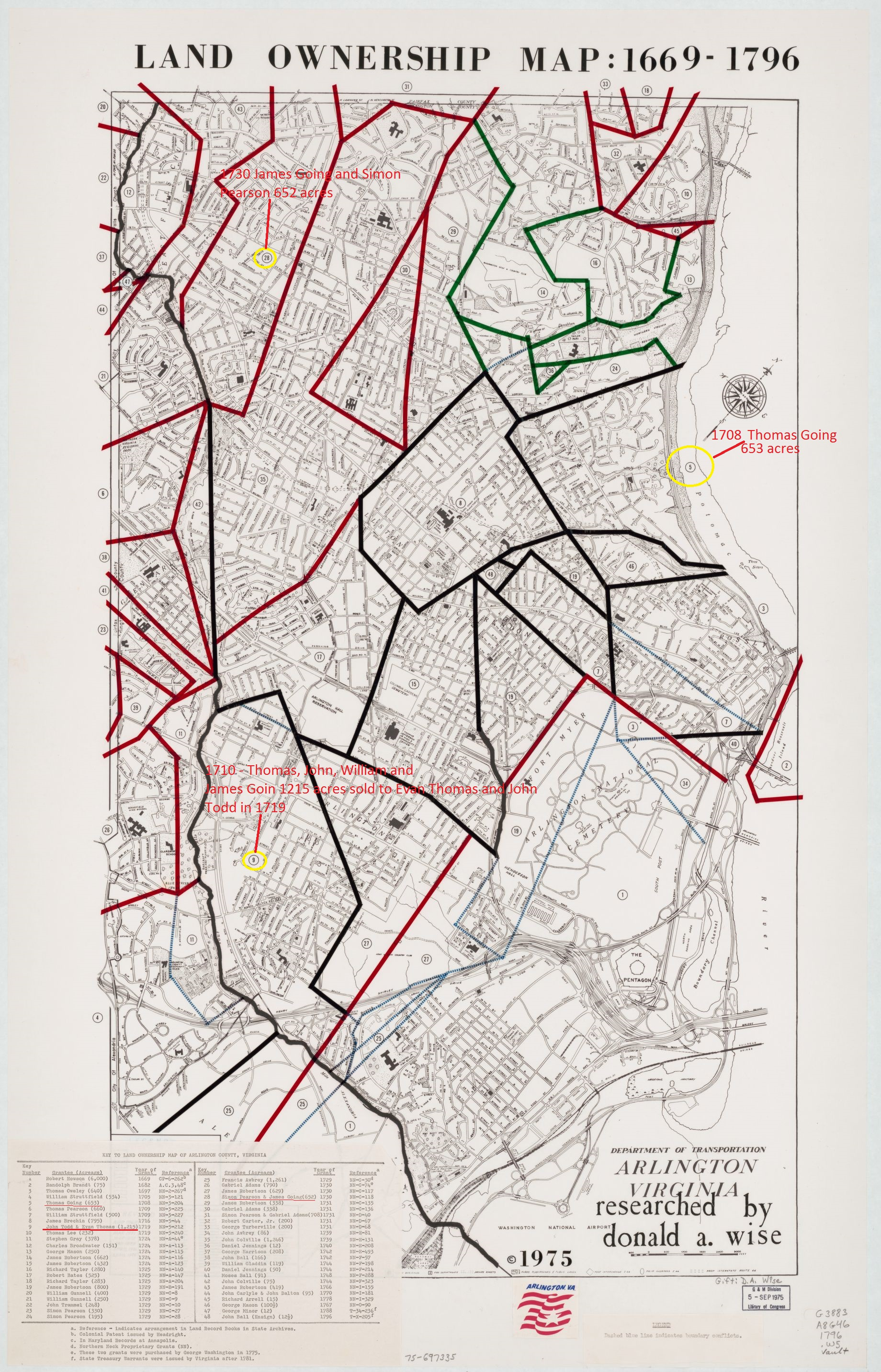 arlington-county-land-owner-map-1669-to-1796-including-going-lands-1215acres-652acres-and-653acres-marked