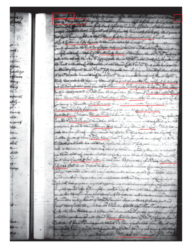 1744 John Gowen and Mary his wife to Thomas Ford Fairfax Co Va_Page_1