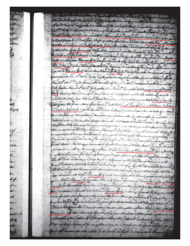 1744 John Gowen and Mary his wife to Thomas Ford Fairfax Co Va_Page_3
