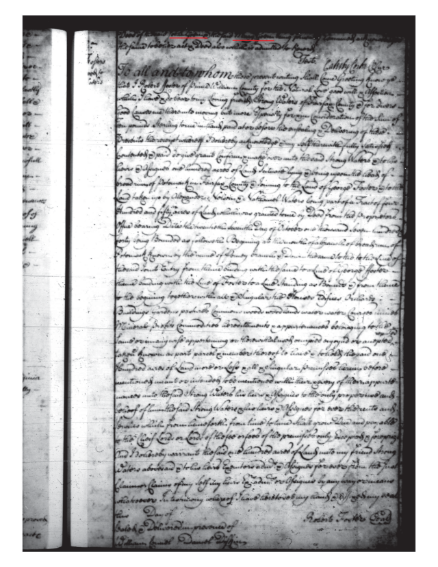 1744 John Gowen and Mary his wife to Thomas Ford Fairfax Co Va_Page_5