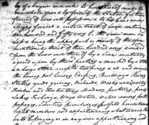 1769 William Goyne to Gladden 150a in SC 3