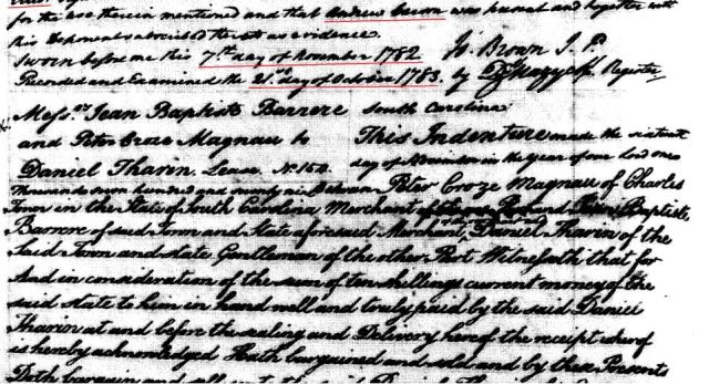 1779 Robt Elliot to Drury Goyen snip 10