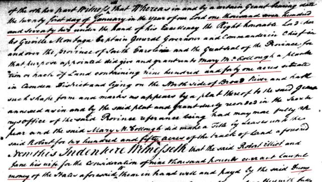1779 Robt Elliot to Drury Goyen snip 4