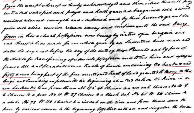 1779 Robt Elliot to Drury Goyen snip 5