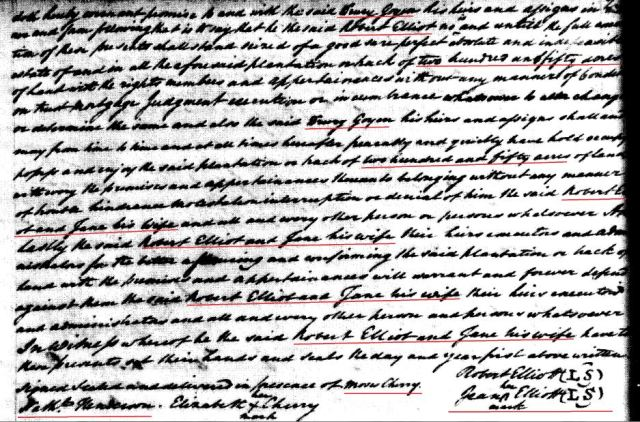 1779 Robt Elliot to Drury Goyen snip 7