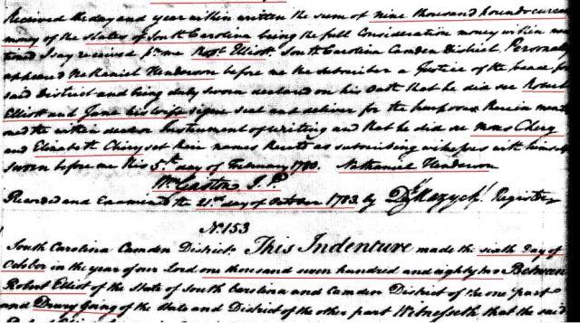 1779 Robt Elliot to Drury Goyen snip 8