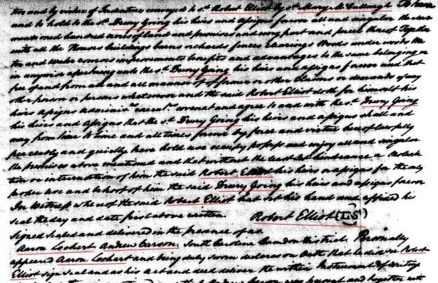 1779 Robt Elliot to Drury Goyen snip 9