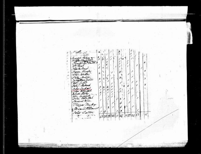 1800 US Census in Chester SC w John Lockert
