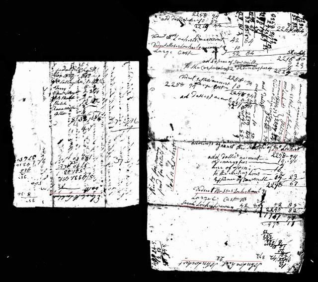 1808 John Lockert account probate