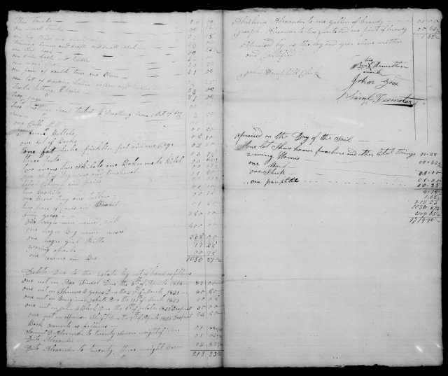 1824 Plaxco, Docea admx John Plaxco will 3