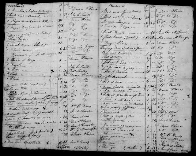 1824 Plaxco, Docea admx John Plaxco will 5
