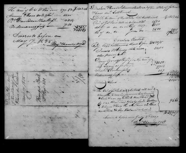 1824 Plaxco, Docea admx John Plaxco will 7
