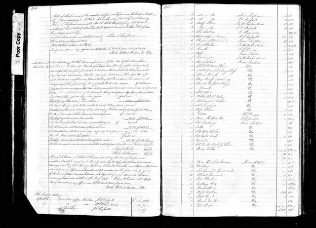 1842 Asa Tindall sale probate p2