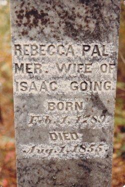 1855 Rebecca Palmer Going headstone