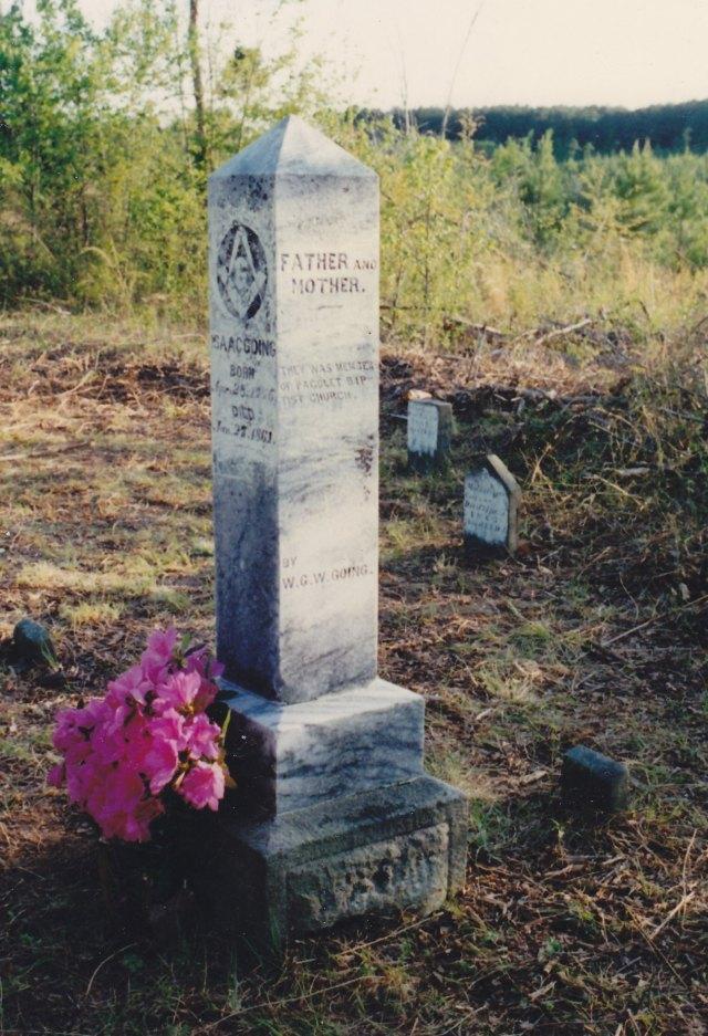 1861 Isaac Going headstone 2