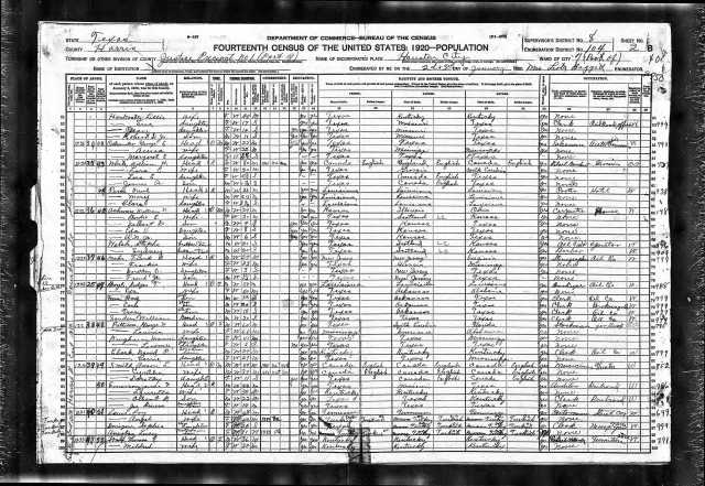 1920 US Census