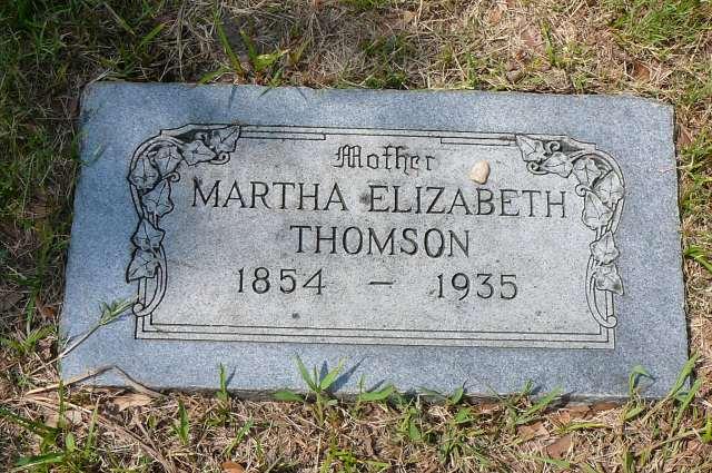 1935 Headstone