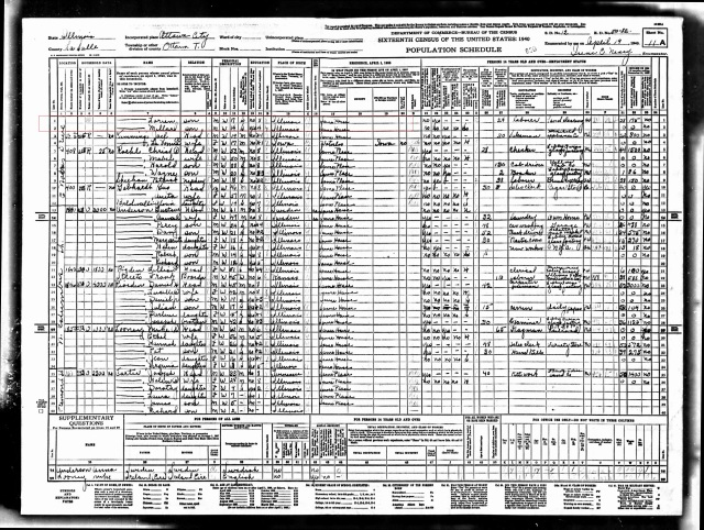 1940 US Census p2