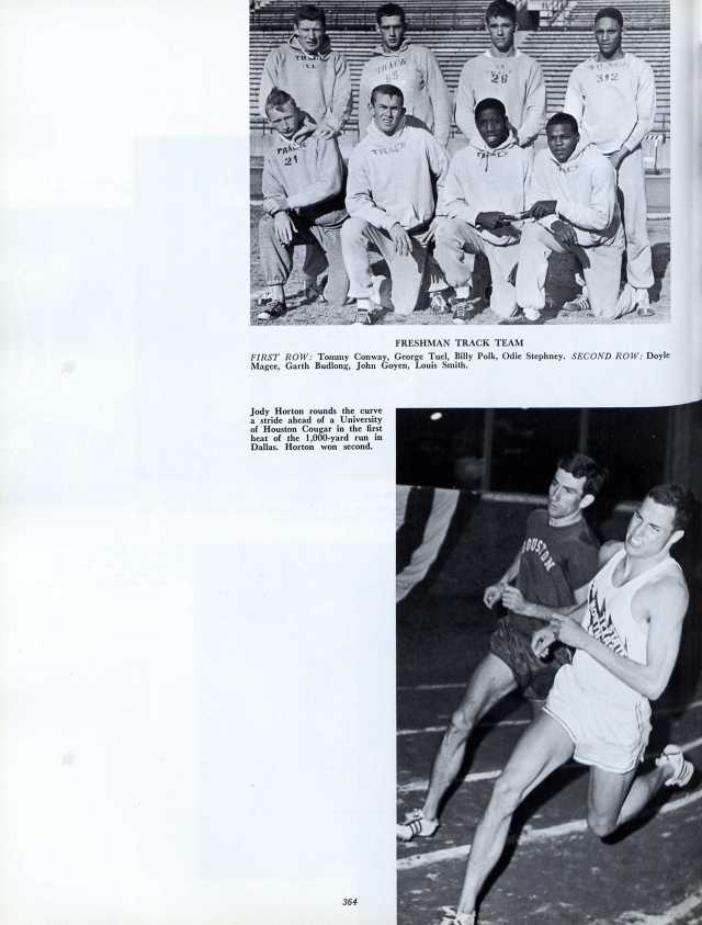 1964 North Texas State track team