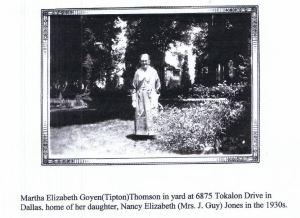 Martha Elizabeth Goyen pic in 1930s