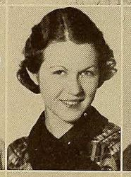 Mary Louise Foote 1935 Rice University class photo