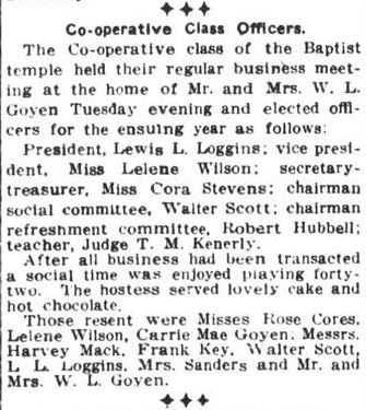 W L Goyen Feb 15 1915 Houston Post 1