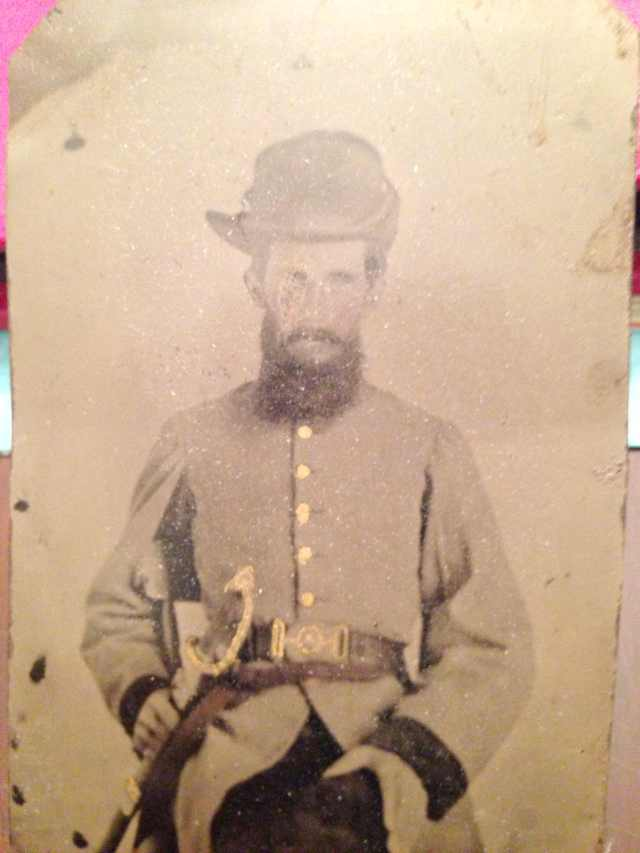 William W. Goyen in uniform