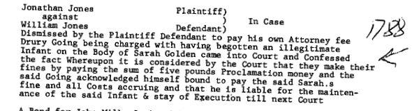 1788 Drury Going illegit child