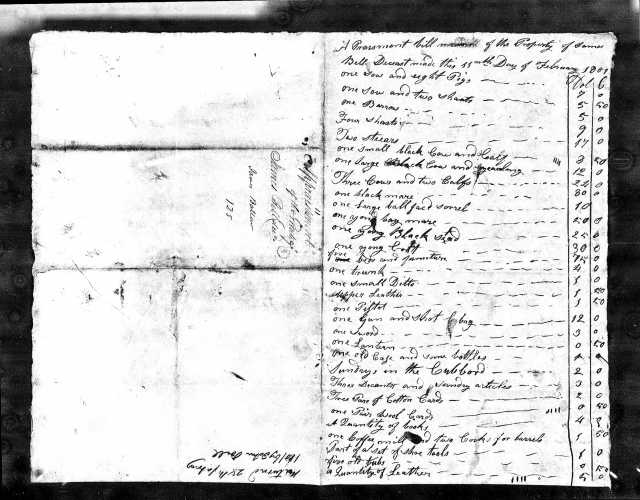 1801 James Bell loose ppw SC 2