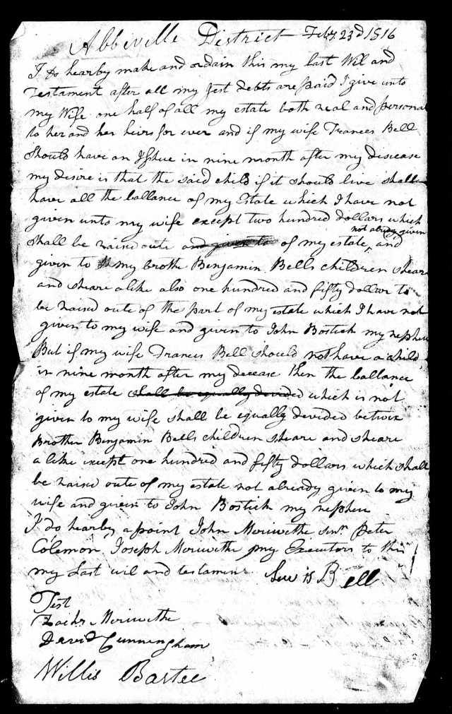 1816 Lewis Bell loose SC 2