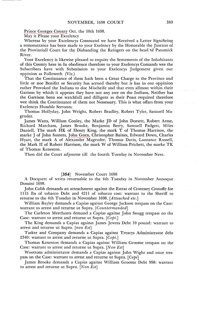 1698-oct-10-john-guen-signs-petition-in-prince-georges-co-md-marked