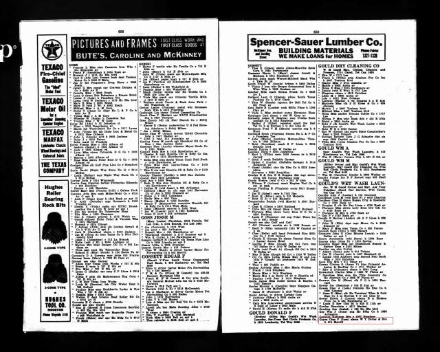 1935 Houston City Directory