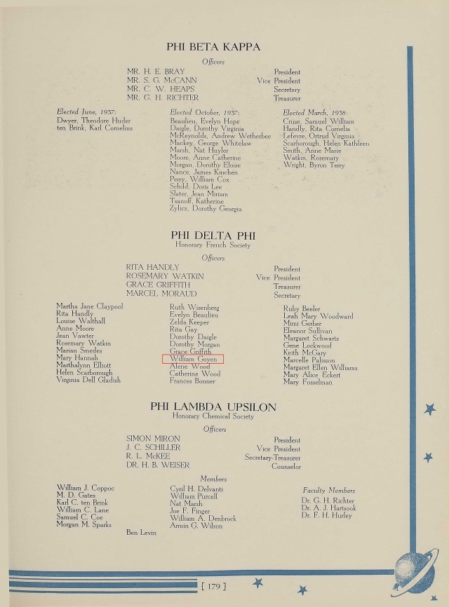 1938 Rice Univ yearbook