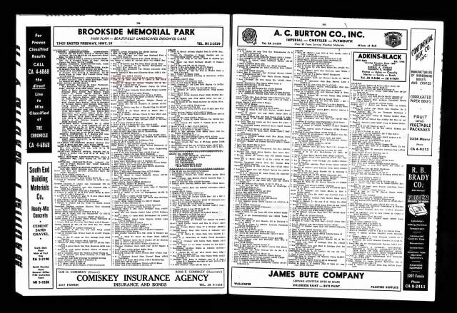 1958 Houston City Directory