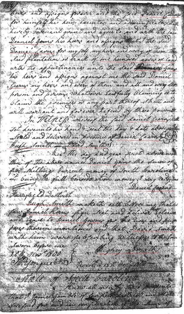 1788 Daniel Gowen from Daniel Carns p2
