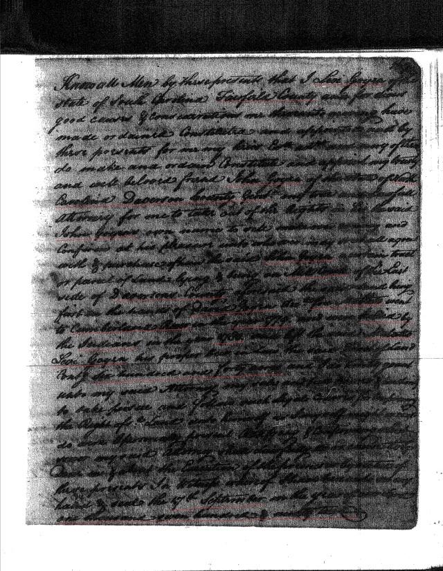 1792 Bond marked Levi Goyen, David Goyen, John Goyen affid p1