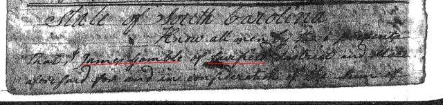 1800 Daniel Gowen from James Gamble p1