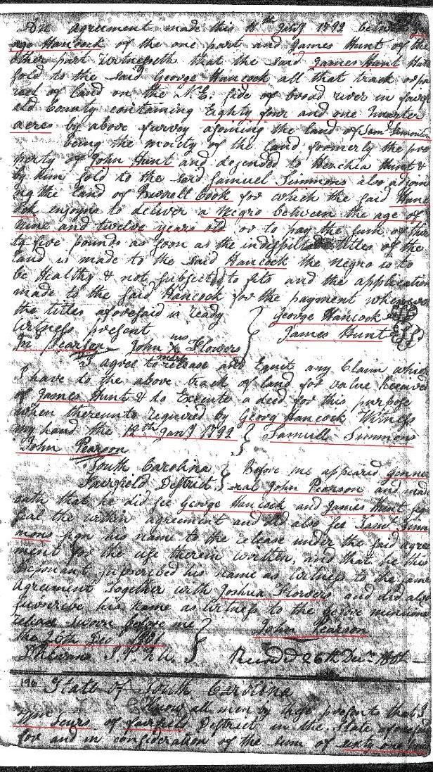 1801 Isaac Reynolds to Daniel Goyen p2