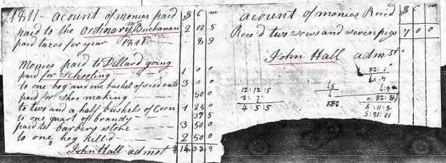 1811 Henry Going accounting of estate p2