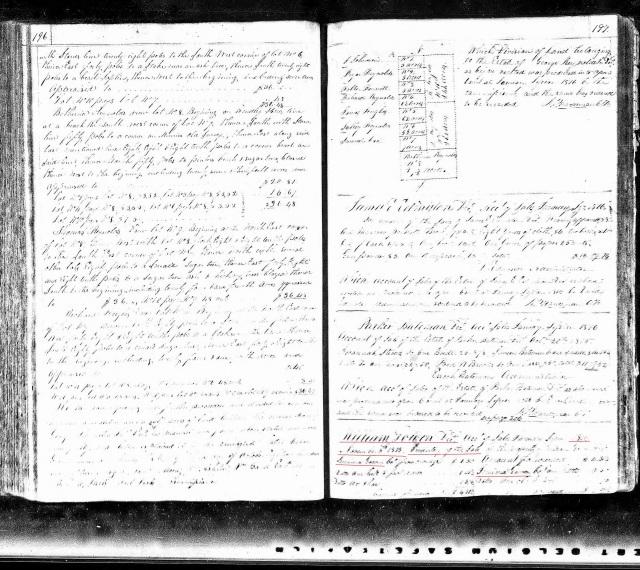 1816 TN Williamson sales of William Gowen estate p1