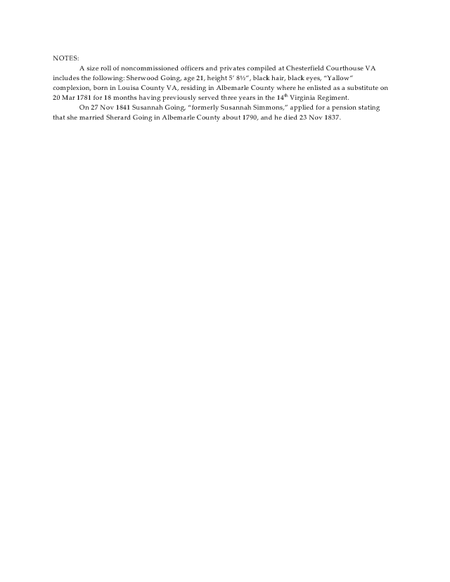 1828 Va Albemarle Co Sherard Goin rev war pens app_Page_2