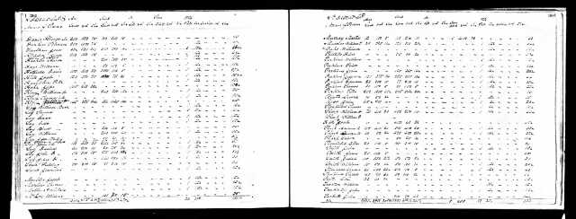 1838 TN Campbell Co Daniel Going tax record list