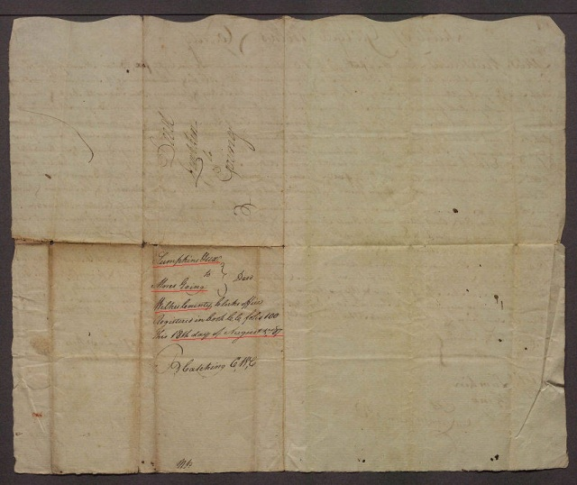1785 Georgia Moses Going court record 2 marked