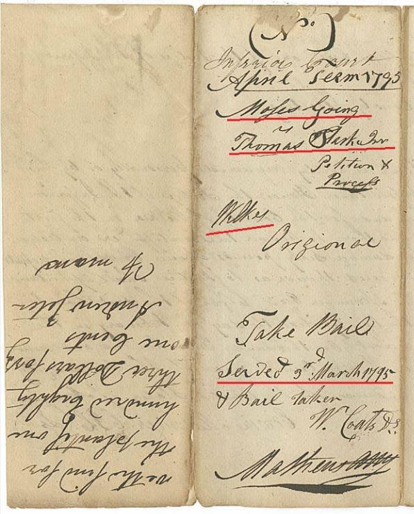 1795 Ga Moses Going v Thomas Starke p4