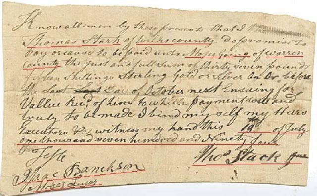 1795 Ga Moses Going v Thomas Starke p5