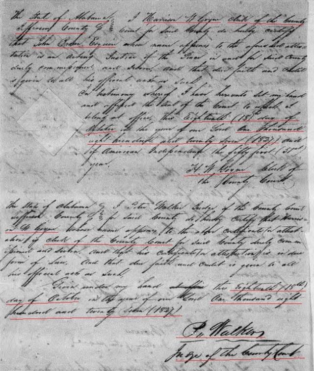 1827 Harrison W. Goyne ct doc snipped