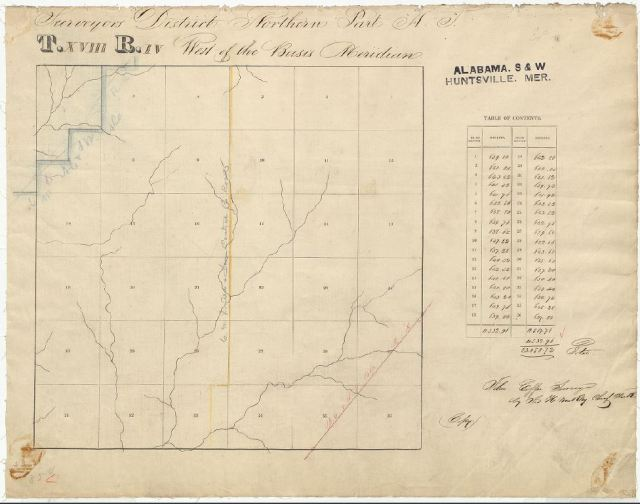 1836 Goyne, Harrison W Plat MAP