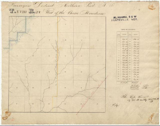 1836 Goyne, Harrison W Plat MAP