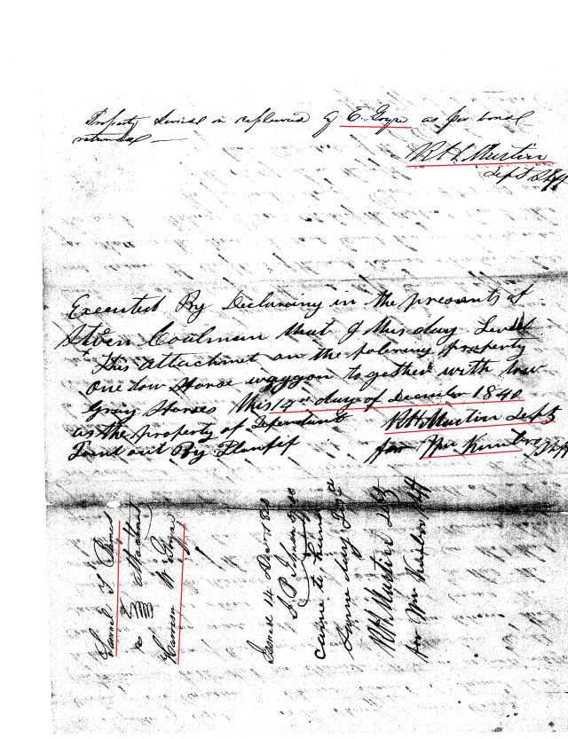 1841 Samuel Burns v Harrison W Goyne lawsuit 1841 San Augustine, Texas_Page_08