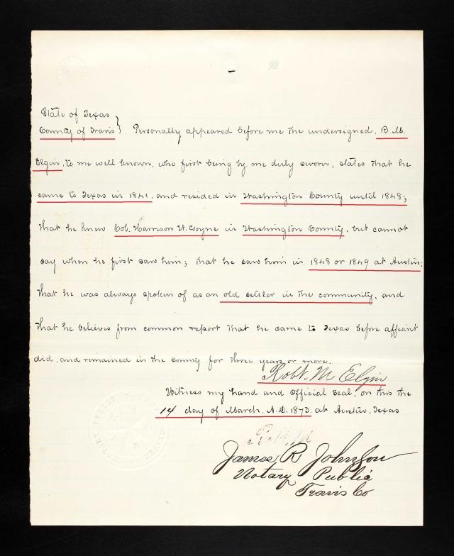 1873 Harrison Goyne Texas recs p4